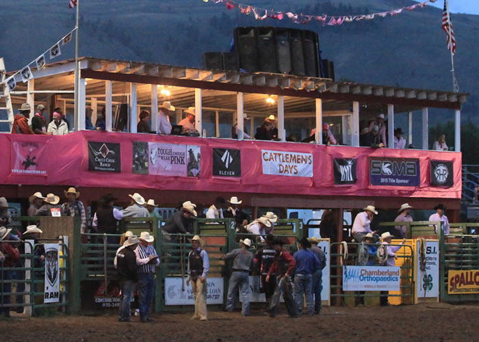 About Cattlemen's Days Tough Enough to Wear Pink
