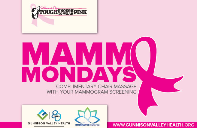 Gunnison TETWP Mammo Mondays Program