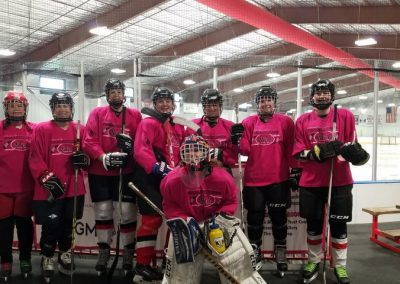 2018 TETWP Pink in the Rink Women's Hockey Tournament , Gunnison, CO 20181021_084611 (Small)