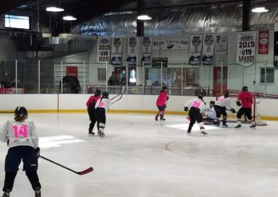 2018 TETWP Pink in the Rink Women's Hockey Tournament , Gunnison, CO 20181021_085552 (Small)