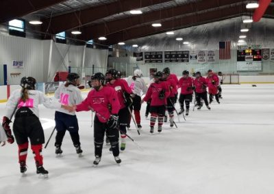 2018 TETWP Pink in the Rink Women's Hockey Tournament , Gunnison, CO 20181021_094316 (Small)