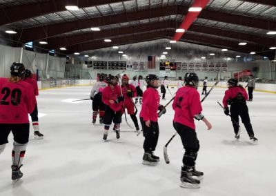 2018 TETWP Pink in the Rink Women's Hockey Tournament , Gunnison, CO 20181021_094323 (Small)