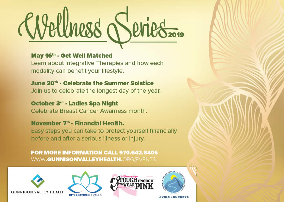 Gunnison Valley Wellness Series 2019