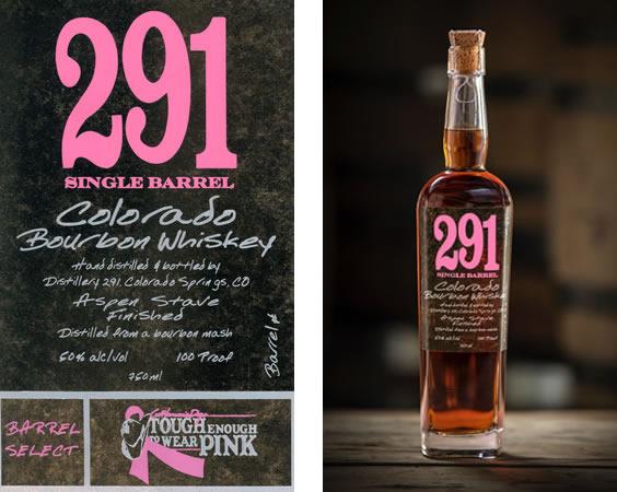291 Colorado Bourbon Whiskey Barrel Select program benefitting Cattleman's Days Tough Enough To Wear Pink