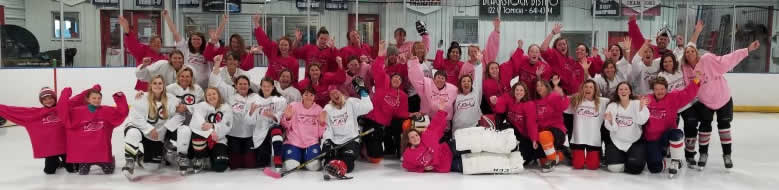 Pink in the Rink 2018 Teams