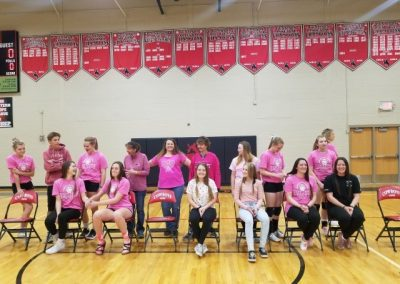 GHS Volleyball Pink Night