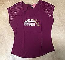 T-shirt Womens Dark Pink