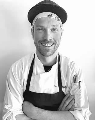 Chef Christoph Peherstorfer of Alpen Chef
