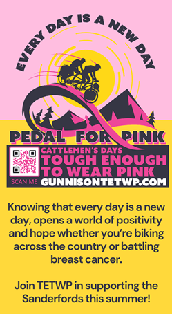 Pedal for Pink Join Us Info Sidebar