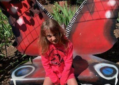 Red Butterfly Sandpoint Healing Garden