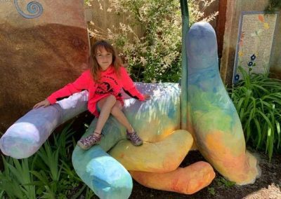 Sandpoint Healing Garden Giant Hand