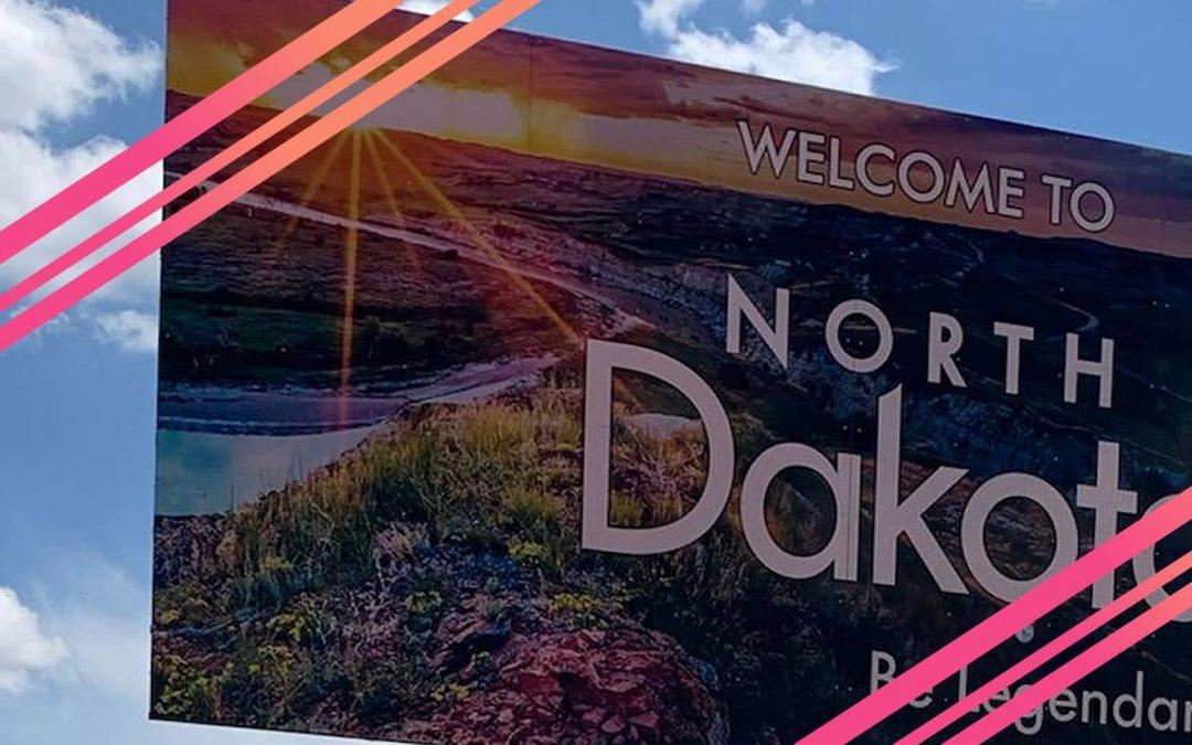 North Dakota to Minnesota